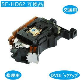 DVD 光 ピックアップ レンズ SANYO SF-HD62 互換品 交換 修理
