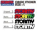 【STORMY】Original Classic Sticker Size L(ストーミー オリジナル ステッカー Lサイズ)