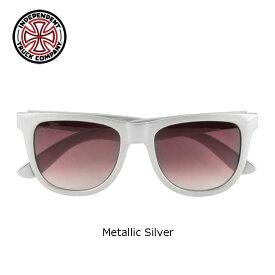 【INDEPENDENT】BASE SUNGLASSES(Metallic Silver)(インディペンデント インディ サングラス INDY)16s/
