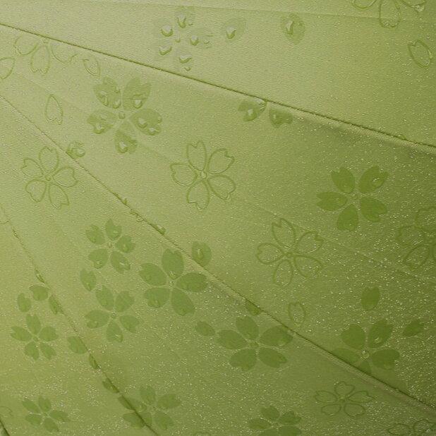 《期間限定特価》傘レディース16本骨桜柄ワンタッチジャンプ式【雨傘長傘ジャンプ傘和風傘おしゃれ傘かわいい傘撥水傘和桜傘和傘】【10P09Jul16】