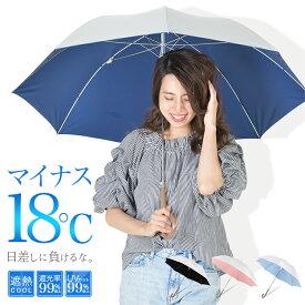 日傘 長傘 傘 レディース 晴雨兼用 メンズ uvカット99%以上 遮光率99%以上 UPF50+ 遮熱効果 シルバー プレゼント ギフト ひんやり
