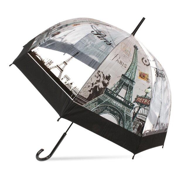 【あす楽】ビニール傘かわいいおしゃれ傘レディースドーム型猫柄深張り【10P30Sep17】