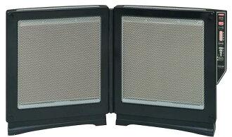 TOYOTOMI电宽大的遠赤暖房嵌板式加热器EPH-121(B:黑色)《再生品》安心、安全的日本制造