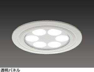 【カードOK】シャープLED照明 ダウンライト DL-D007N 150形 昼白色相当・透明パネル
