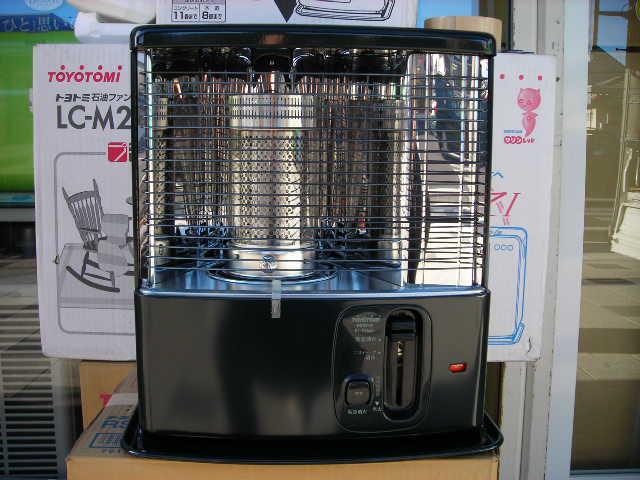 【送料無料】【カードOK】トヨトミ 石油ストーブ PS-K27(B・ブラック) 9畳まで用《再生品》においを抑える「ニオイセーブ消火」