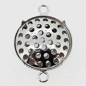 アクセサリーパーツ 金具 シャワーペンダントトップ 2カン付き 15mm