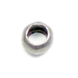 アクセサリーパーツ 金具 つぶし玉 かしめ玉 銀古美 アンティークシルバー 小サイズ・1.5mm玉 基礎金具