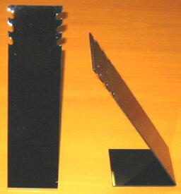 【ディスプレイ用品】アクリル製 ネックレス・スタンド 3連ロング