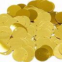 スパンコール 10mm 金色(ゴールド)