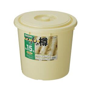 【2160円以上送料無料】リス 漬物樽 NI−15型