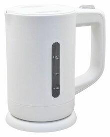 【2160円以上送料無料】 ドリテック 電気ケトル(やかん) 0.8L ホワイト PO-329 WT
