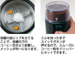 【2160円以上送料無料】カリタ電動コーヒーミルイージーカットミルEG-45