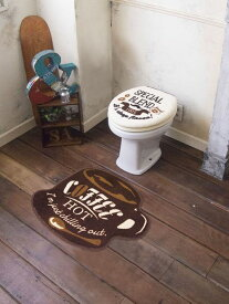 【2160円以上送料無料】 オカトー Cozydoors(コージードアーズ)トイレ2点セット U・O型 Hot Coffee