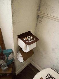【2160円以上送料無料】 オカトー Cozydoors(コージードアーズ)ペーパーホルダーカバー Hot Coffee