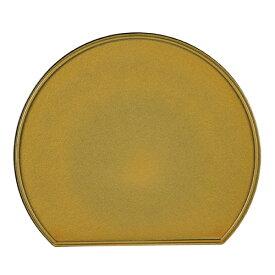 【2160円以上送料無料】パール金属 個々膳 半月両面盆(ゴールド) K-6345
