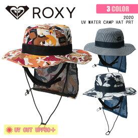 20 ROXY ロキシー サーフハット UV WATER CAMP HAT PRT 帽子 水陸両用 撥水 UVカット 日焼け防止 日焼け対策 UPF50+ 品番 RSA201752 日本正規品