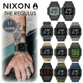 NIXON ニクソン 腕時計 メンズ レディース THE REGULUS レグルス ミリタリーウォッチ 耐衝撃 超耐水 軽量 デジタル オンライン正規取扱店 日本正規品
