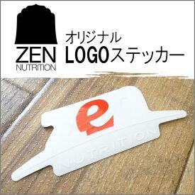 ZEN NUTRITION(ゼンニュートリション) LOGO STICKER 日本正規品 ロゴステッカー シール サーフィン スポーツサプリメント