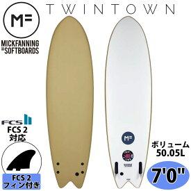 2021年4月下旬出荷 予約商品 ミックファニング ソフトボード サーフボード TWIN TOWN 7'0 ツインタウン MICK FANNING SOFTBOARD 2021年モデル 品番 H21-MF-TTT-700 MF soft boards シリーズ 日本正規品