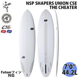 NSP SHAPERS UNION CSE サーフボード THE CHEATER ザ チーター 7'0 2021年モデル 日本正規品