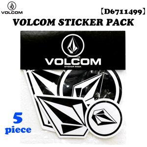 21 VOLCOM ヴォルコム ステッカー VOLCOM STICKER PACK ボルコム ステッカーパック シール サーフィン サーフボード おしゃれ 品番 D6711499 日本正規品