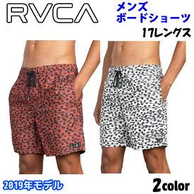 19 RVCA ルーカ ボードショーツ メンズ 2019年春夏モデル TOM GERRARD DOTS TRUNK 品番 AJ041-510 日本正規品