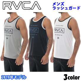 19 RVCA ルーカ ラッシュガード メンズ 2019年春夏モデル STACKED 品番 AJ041-853 日本正規品