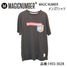 MAGIC NUMBER マジックナンバー 半袖Tシャツ メンズモデル 品番 14SS-3028 日本正規品