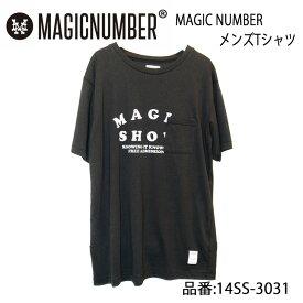 MAGIC NUMBER マジックナンバー 半袖Tシャツ メンズモデル 品番 14SS-3031 日本正規品