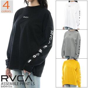 20 RVCA ルーカ ASSEMBLE PRINT LS ロングスリーブTシャツ ロンT レディース 2020年秋冬モデル 品番 BA044-056 日本正規品