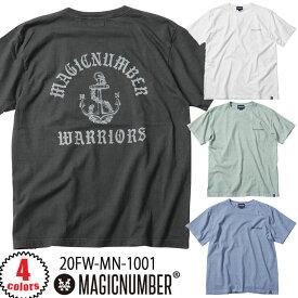 20 MAGIC NUMBER マジックナンバー ANCHOR S/S TEE 半袖 Tシャツ メンズ ユニセックス 2020年秋冬 品番 20FW-MN-1001 日本正規品
