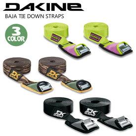 DAKINE ダカイン キャリア ストラップベルト サーフボード 車 持ち運び バハ タイダウン ストラップ BAJA TIE DOWN STRAPS 12' 3.66m 2個セット 品番 AJ237-974 日本正規品