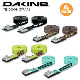 DAKINE ダカイン キャリア ストラップベルト タイダウン ストラップ TIE DOWN STRAPS 12' 3.66m 2個セット サーフボード 車 持ち運び 品番 AJ237-973 日本正規品