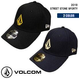 19 VOLCOM ボルコム NEW ERA ニューエラ キャップ STREET STONE 9FORTY ナインフォーティ 帽子 ロゴ 2019年秋冬 品番 D5541911 日本正規品