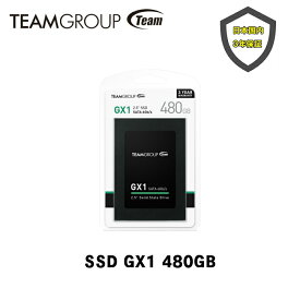 TEAM SSD GX1 480GB 2.5インチ SATA 3 内蔵Solid State Drive T253X1480G0C101NF-EC