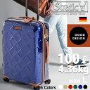 スーツケース 軽量 大型 人気 キャリーバッグ ストラティック 【レザー&モア】 本革 セキュリティファスナー キャリ…