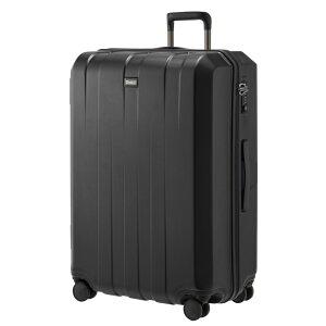 スーツケース大型軽量人気キャリーバッグストラティック【パラレル】カップ立て止水ファスナーキャリーケース109L【送料無料】静音頑丈ホイールスタイリッシュデザインヒノモトLisof凸凹ボディ