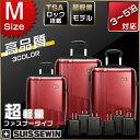 スーツケース PC100%超軽量 中型 SN6612M 旅行用品 旅行かばん Mサイズ 3-5泊 キャリーバッグSUISSEWIN