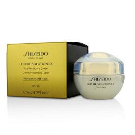 資生堂 Shiseido フューチャー ソリューション LX トータル プロテクティブ クリーム SPF 20 50ml/1.8oz【楽天海外直送】