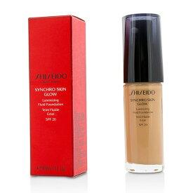 資生堂 Shiseido シンクロ スキン グロー ルミナイジング フルイド ファンデーション SPF 20 - # Rose 4 30ml/1oz【楽天海外直送】