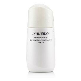 資生堂 Shiseido エッセンシャル エネルギー デイ エムルション SPF 20 75ml/2.5oz【楽天海外直送】