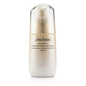 資生堂 Shiseido ベネフィアンス リンクル スムージング デイ エムルション SPF 20 75ml/2.5oz【楽天海外直送】