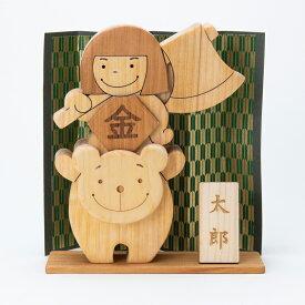 木のおもちゃ 五月人形(金太郎) 節句祝い 名入れ可能 送料無料 型はめ 赤ちゃん ベビー 幼児 男の子 女の子 誕生日 出産祝い 知育玩具 木製玩具 知育 0歳 1歳 2歳 3歳 日本製 高知 皇室 安芸 安全 ギフト プレゼント