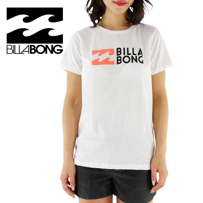 SALE ビラボン 水陸両用 レディース ラッシュTシャツ 女性用 BILLABONG AG013862 WHT