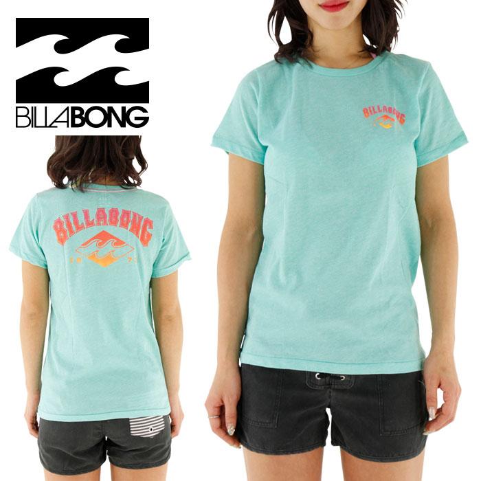 SALE ビラボン レディース ラッシュTシャツ 半袖 水陸両用 女性用 BILLABONG AG013863 AQA
