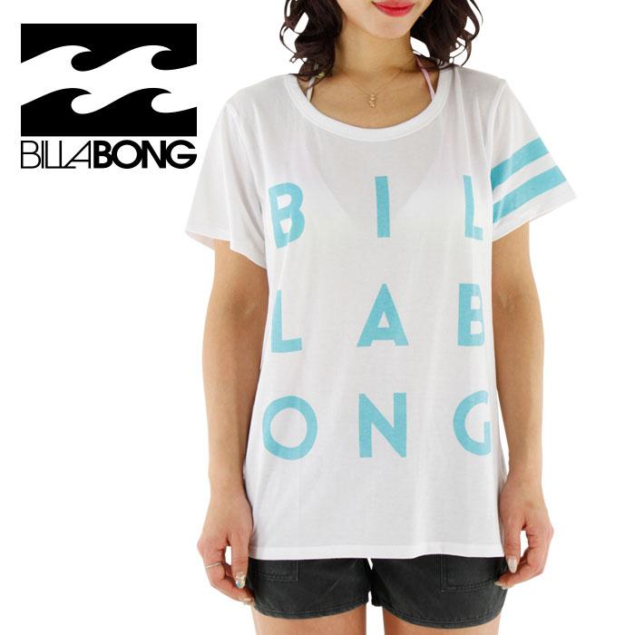 SALE ビラボン レディース ラッシュTシャツ 水陸両用 ゆったりサイズ 女性用 BILLABONG AG013892 WHT