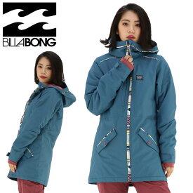 ビラボン スノーウェアジャケット レディースウェア スノボ トップス ウエア ブルー系 女性 スノージャケット 無地 通販 販売 即納 人気