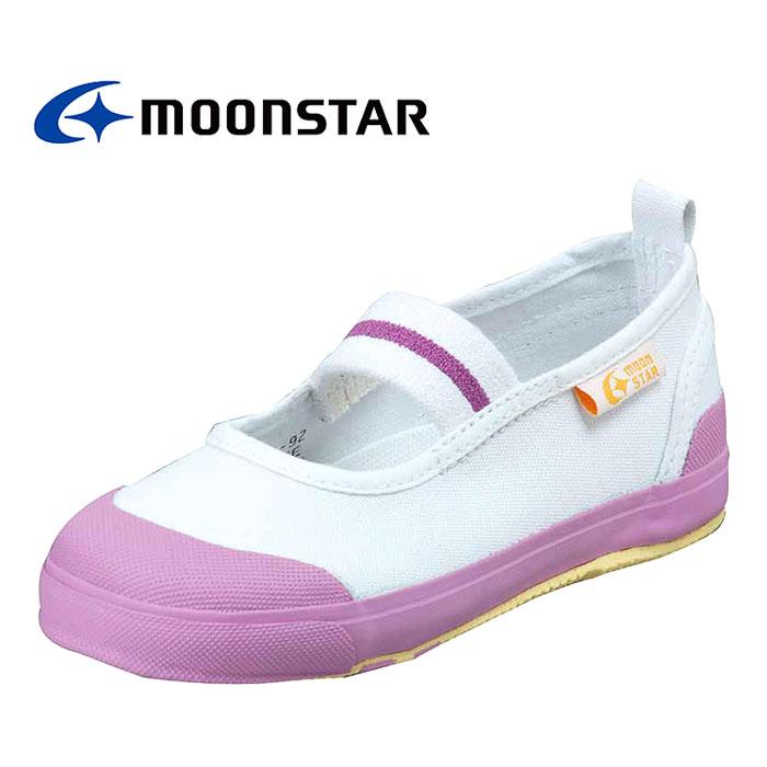 学校 上履き スクールシューズ 女の子 ピンク ムーンスター 子供用 キャロット MoonStar Carrot ST11