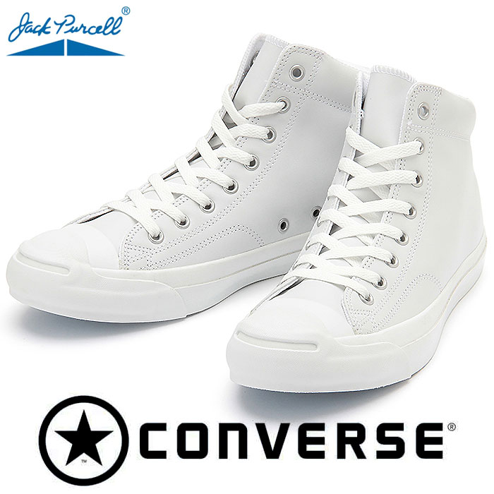 CONVERSE JACK PURCELL LEATHER MID