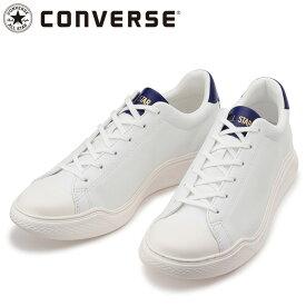 コンバース オールスター クップ クルベ レザー OX ホワイト スニーカー 3130178 白色 シューズ